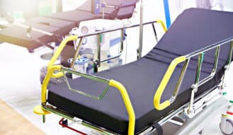 hospital beds for transporting patients